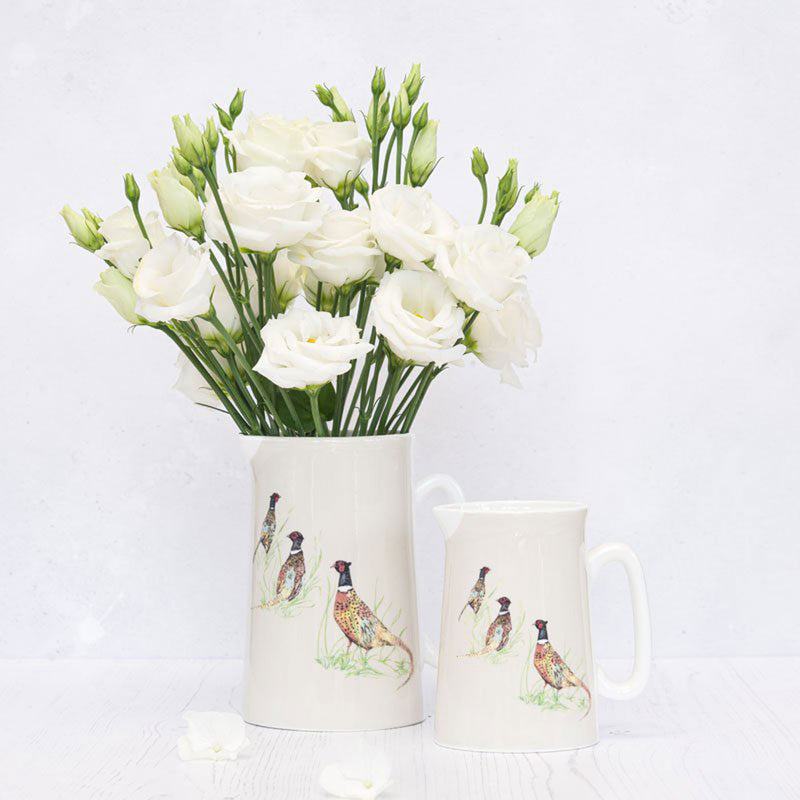 Christmas Pheasant Jug Tableware