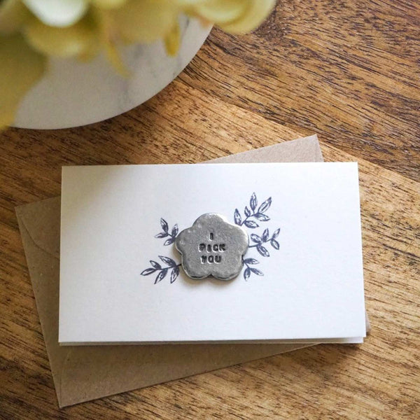 'I PICK YOU' TINY TOKEN CARD