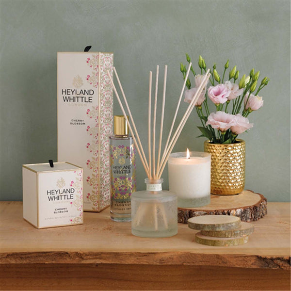 Gold Cherry Blossom Reed Diffuser Refill