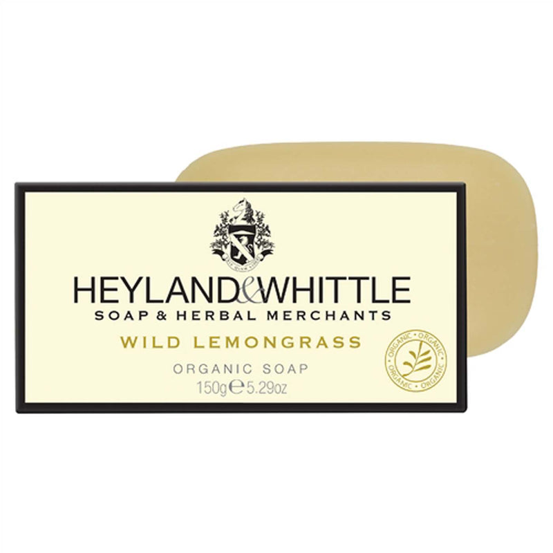 Wild Lemongrass Organic Soap 150g