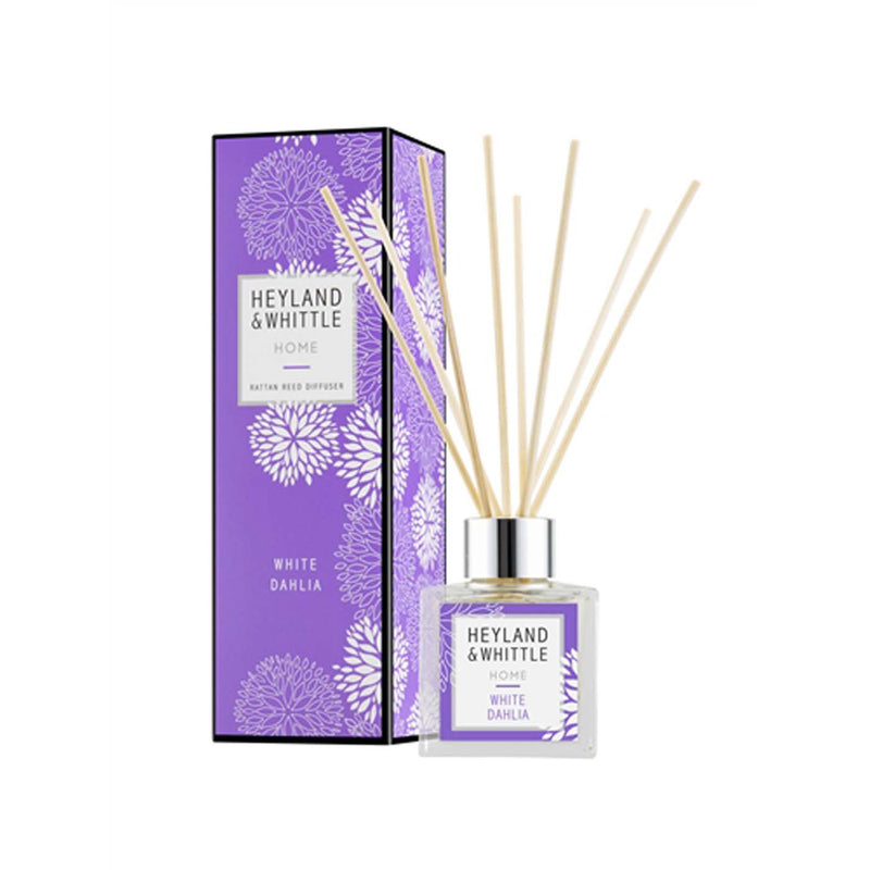Home White Dahlia Reed Diffuser 100ml\