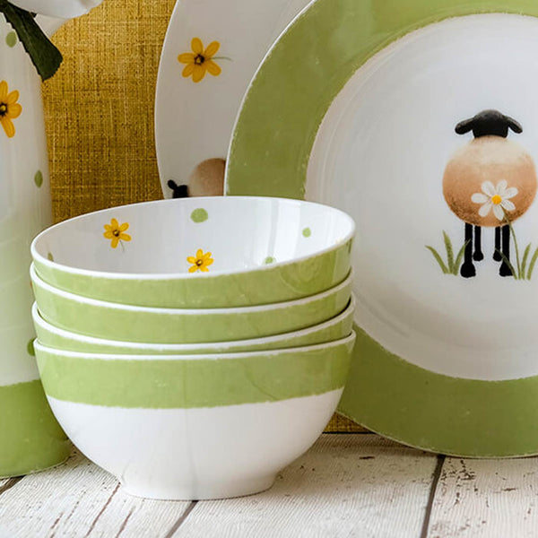 Sheep and Daisy Small Bowl Kitchen