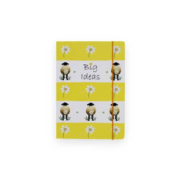 A5 Notebook Sheep & Daisy Lucy Pittaway