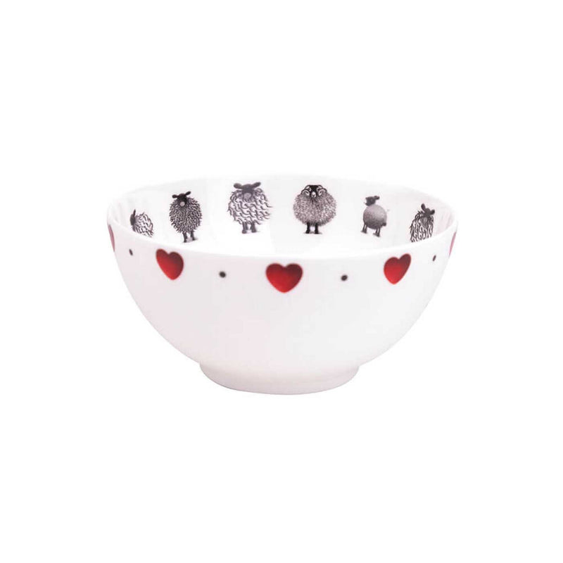 Black & White Sheep Little Bowl