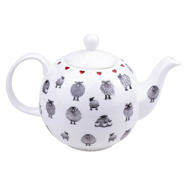 Black & White Sheep Teapot