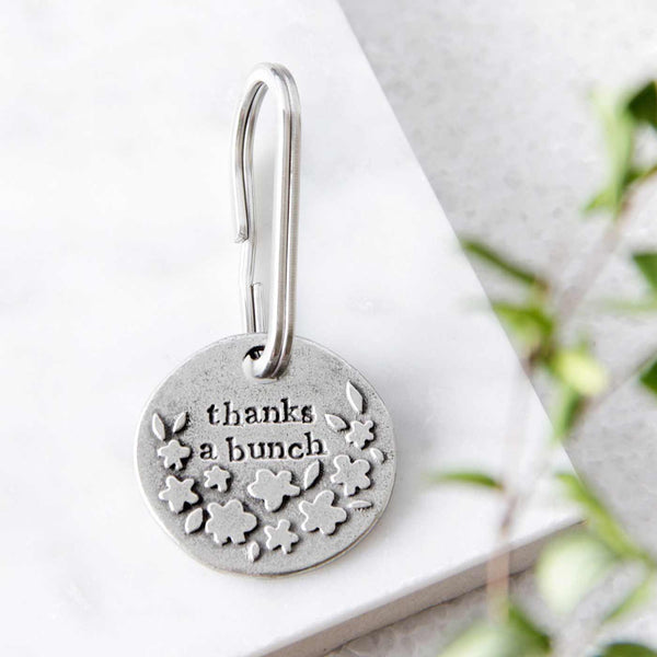 'Thanks A Bunch' Keyring
