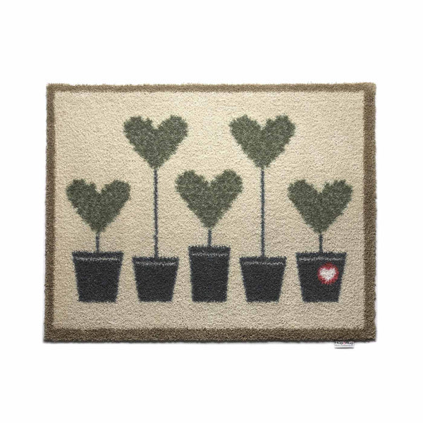 Plant Heart Rug by Hug Rug