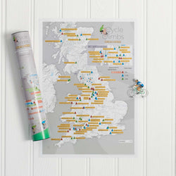 Cycle Climbs Collect & Scratch Map