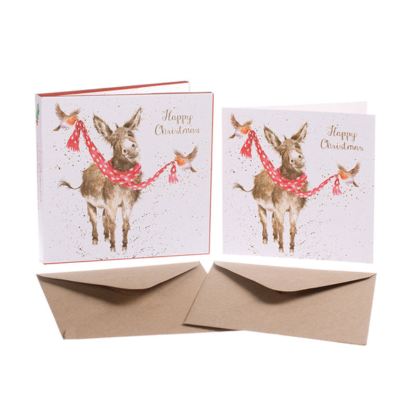 'All Wrapped Up' Christmas Card Pack