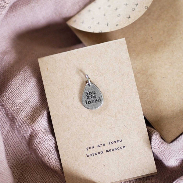 'You Are Loved' Charm