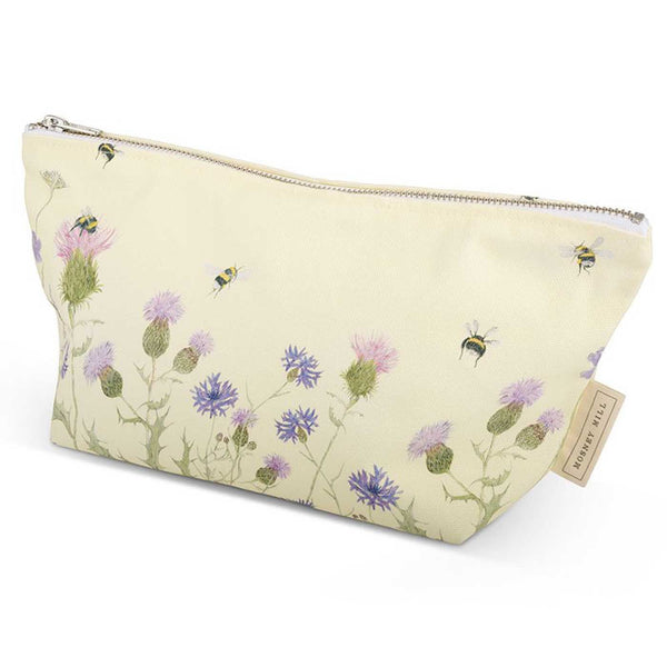 Bee & Flower Cosmetic Bag