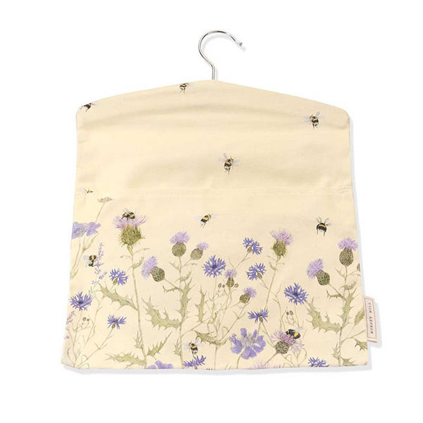 Bee & Flower Peg Bag