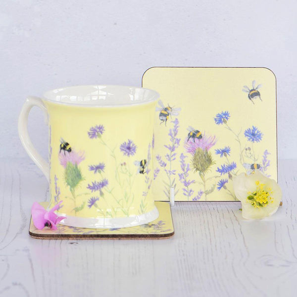 Bee & Flower Coaster