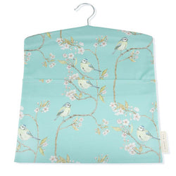 Blue Tit on Blossom Peg Bag - Turquoise by Mosney Mill