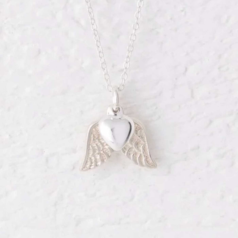 Micha Silver Angel Wing Necklace