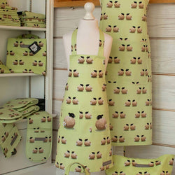 Childrens Apron Sheep and Daisy Kitchen