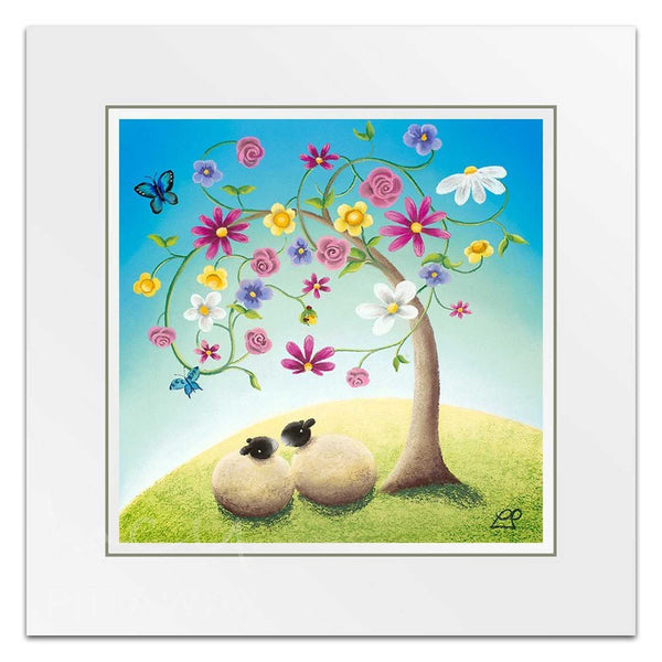 Close Friends - Sheep Art