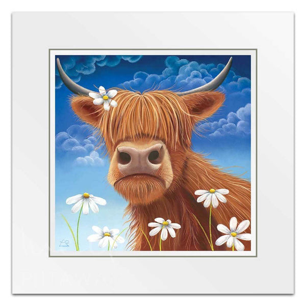 Daisy - Cow Art