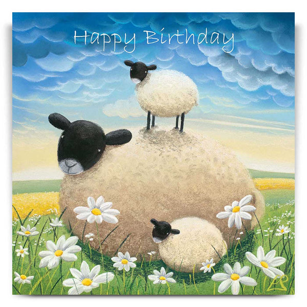 Double Trouble Birthday Card by Lucy Pittaway