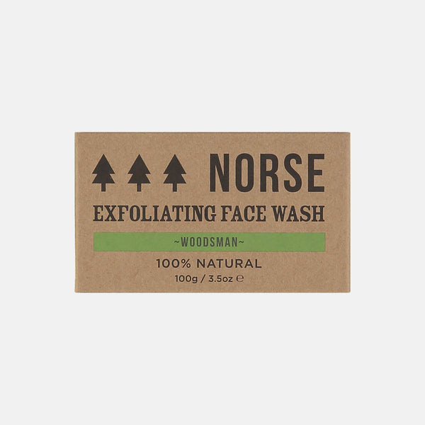 Exfoliating Face Wash Woodsman