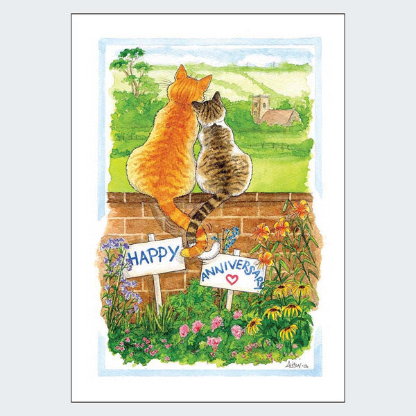 Entwined Happy Anniversary Card