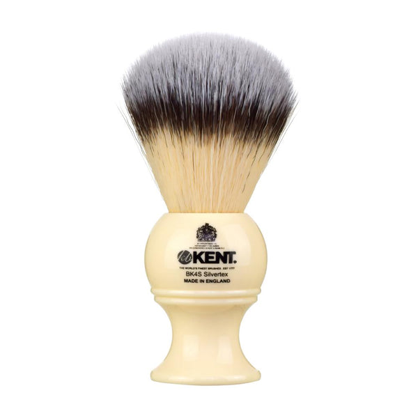 Ivory Synthetic Shave Brush Large