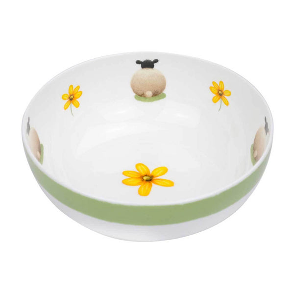 Sheep and Daisy Large Bowl