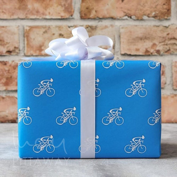 Cycling Gift Wrap