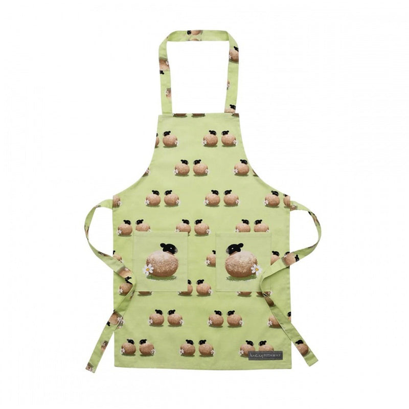Sheep and Daisy Childrens Apron Kitchen