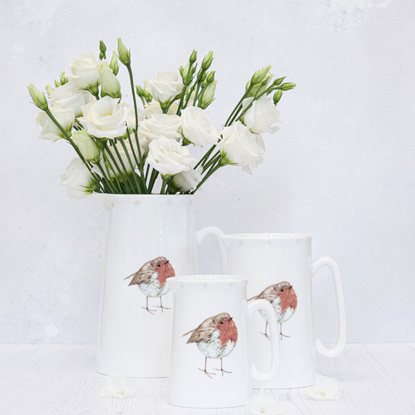 Christmas Robin Jug Tableware