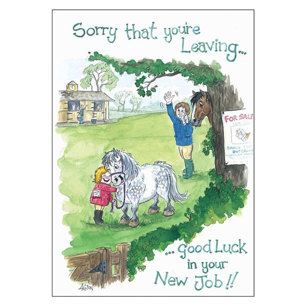 Good Luck in your new Job Card