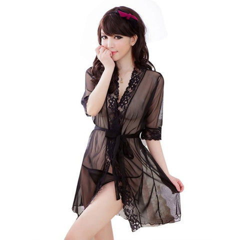High Quality Sexy Lingerie Sleepwear Women Nightwear G-String Temptation Underwear Maternity Sleepwear Ladies Lingerie Set