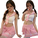 Pure Sexy Lingerie Suit Role-playing Game Costume Students Uniform Temptation