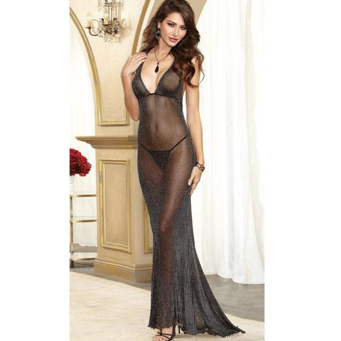Women's Sexy Lingerie Lace Dress Babydoll Sleepwear Underwear G-String Nightwear