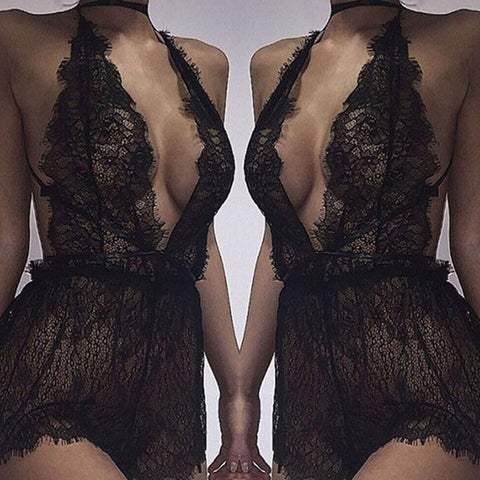 Women Lace Bralette Bra Top Lingerie Dress Sleepwear