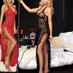 Trendy Plus Size Lace Lingerie Gown Sleepwear Sexy Underwear Nightwear for Women Girls