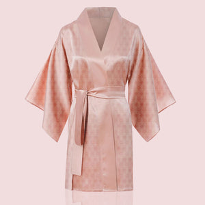 """The Glam Robe"" Bata de seda"