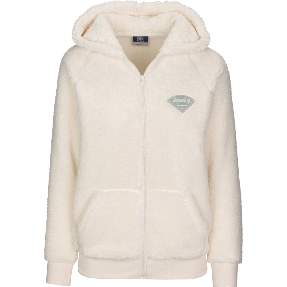 Women's Soft Fleece Full Zip Hoodie