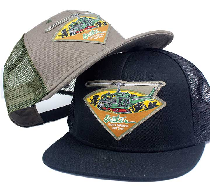 Yater Apocalypse Now Charlie Don't Surf Trucker Hats - Surf N' Wear Beach House Online