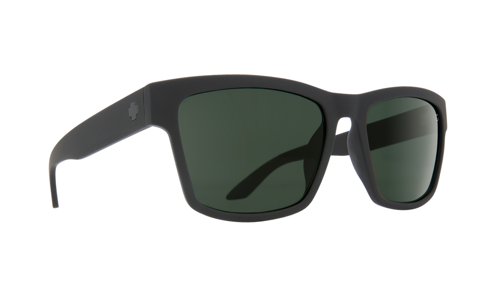 Haight 2 Soft Matte Black - HD Plus Gray Green Polar - Surf N' Wear Beach House Online
