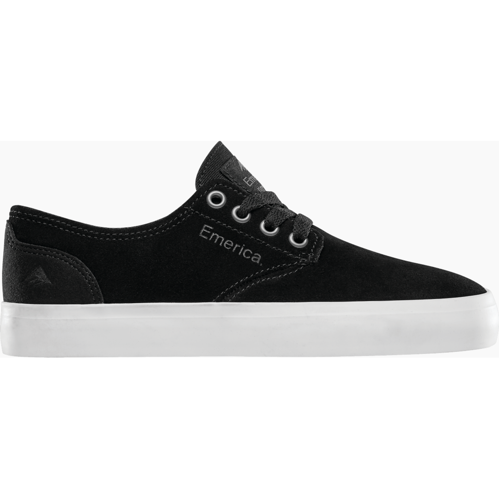 THE ROMERO LACED YOUTH BLACK/GUM
