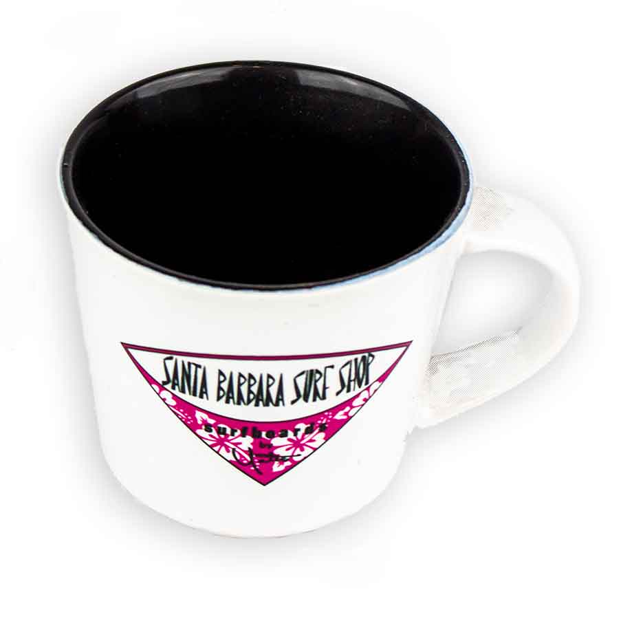 Santa Barbara Surf Shop Coffee Mugs