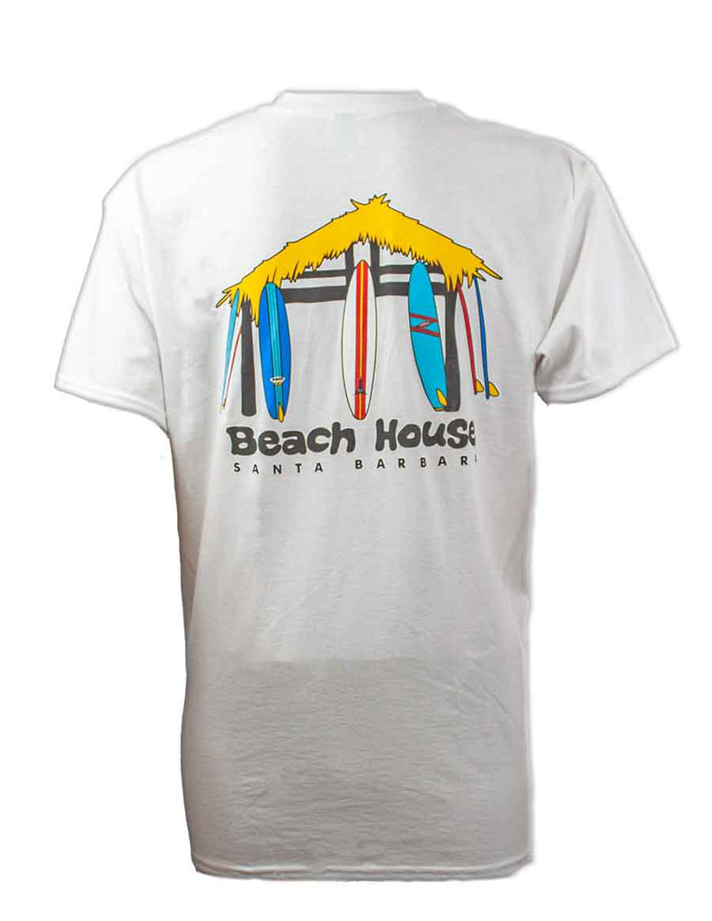 Beach House Hut Logo T-Shirt