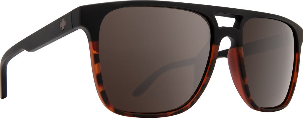 Czar Matte Black/Tort Fade-HD Plus Bronze Polar W/Black Spectra Mirror