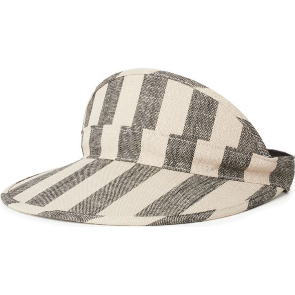 Monroe Visor - Black/Ivory - Surf N' Wear Beach House Online