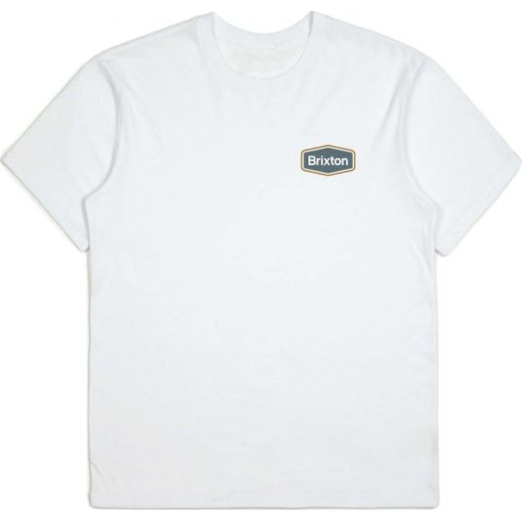 BUMPER S/S PREMIUM TEE - WHITE - Surf N' Wear Beach House Online