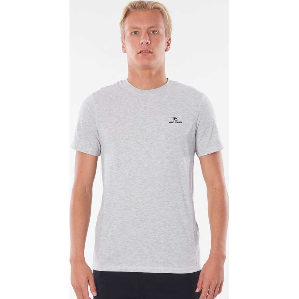 Vapor Cool Pivoting Tee in Grey Marle