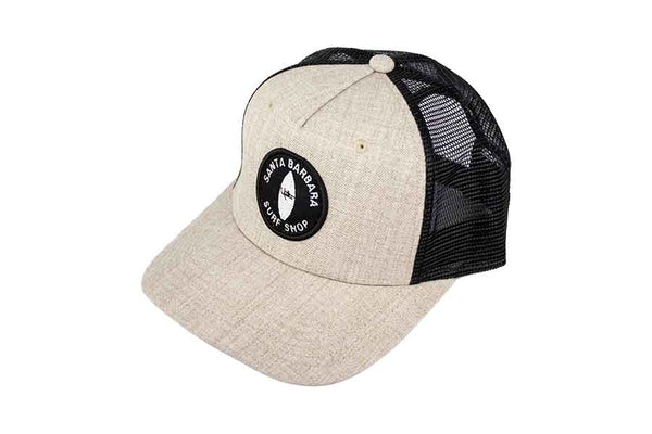 Retro Santa Barbara Surf Shop Trucker Hats