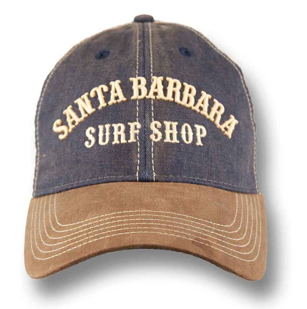 Vintage Style Trucker Santa Barbara Surf Shop Embroidery - Surf N' Wear Beach House Online