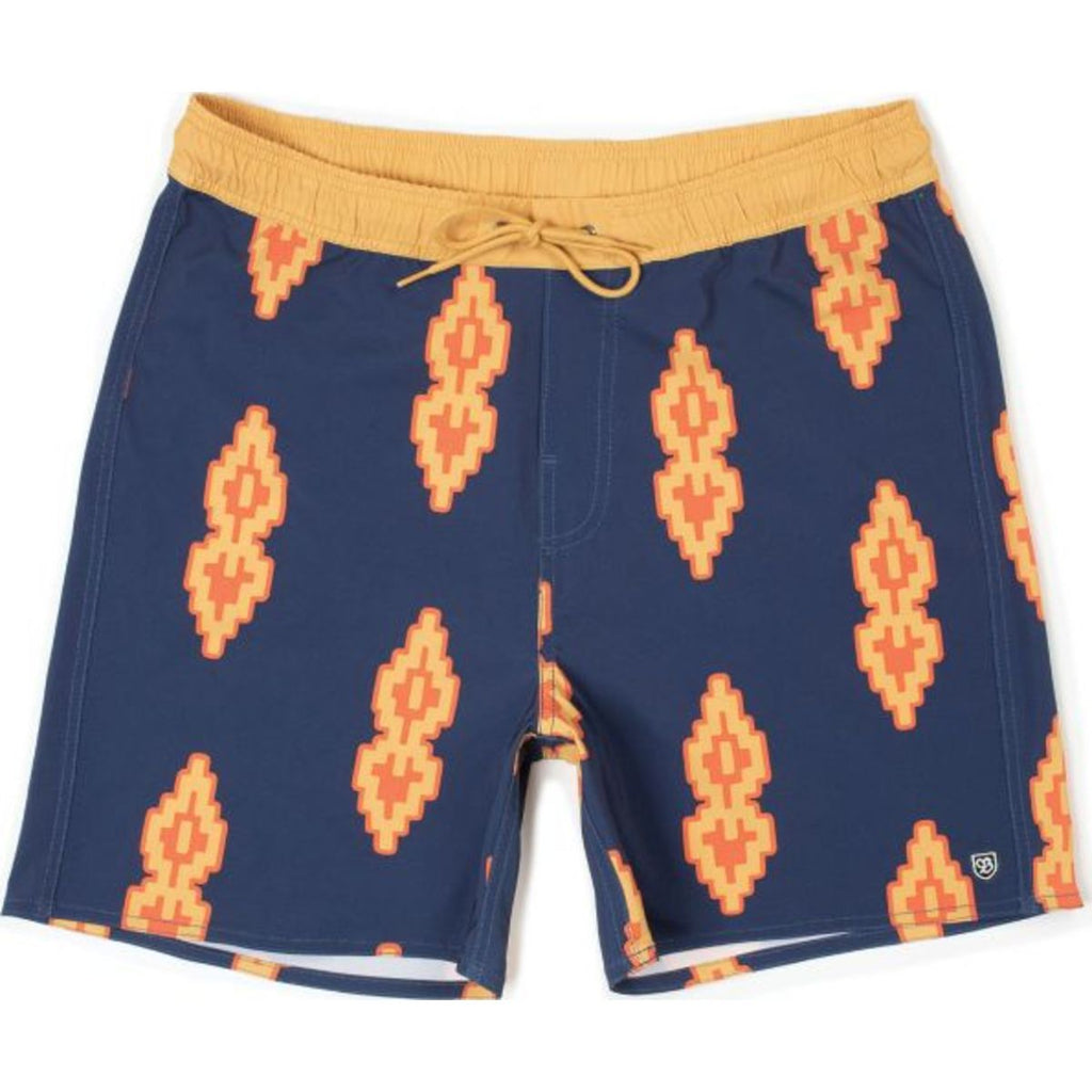Palmas Trunk - Washed Navy/Honey
